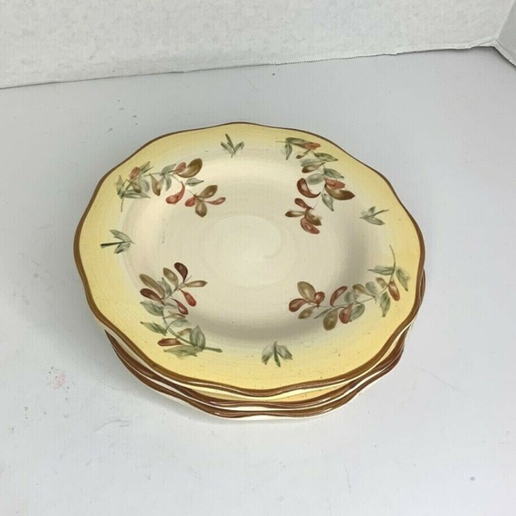 Better Homes and Gardens Salad Plate Lot of 3 Tusc